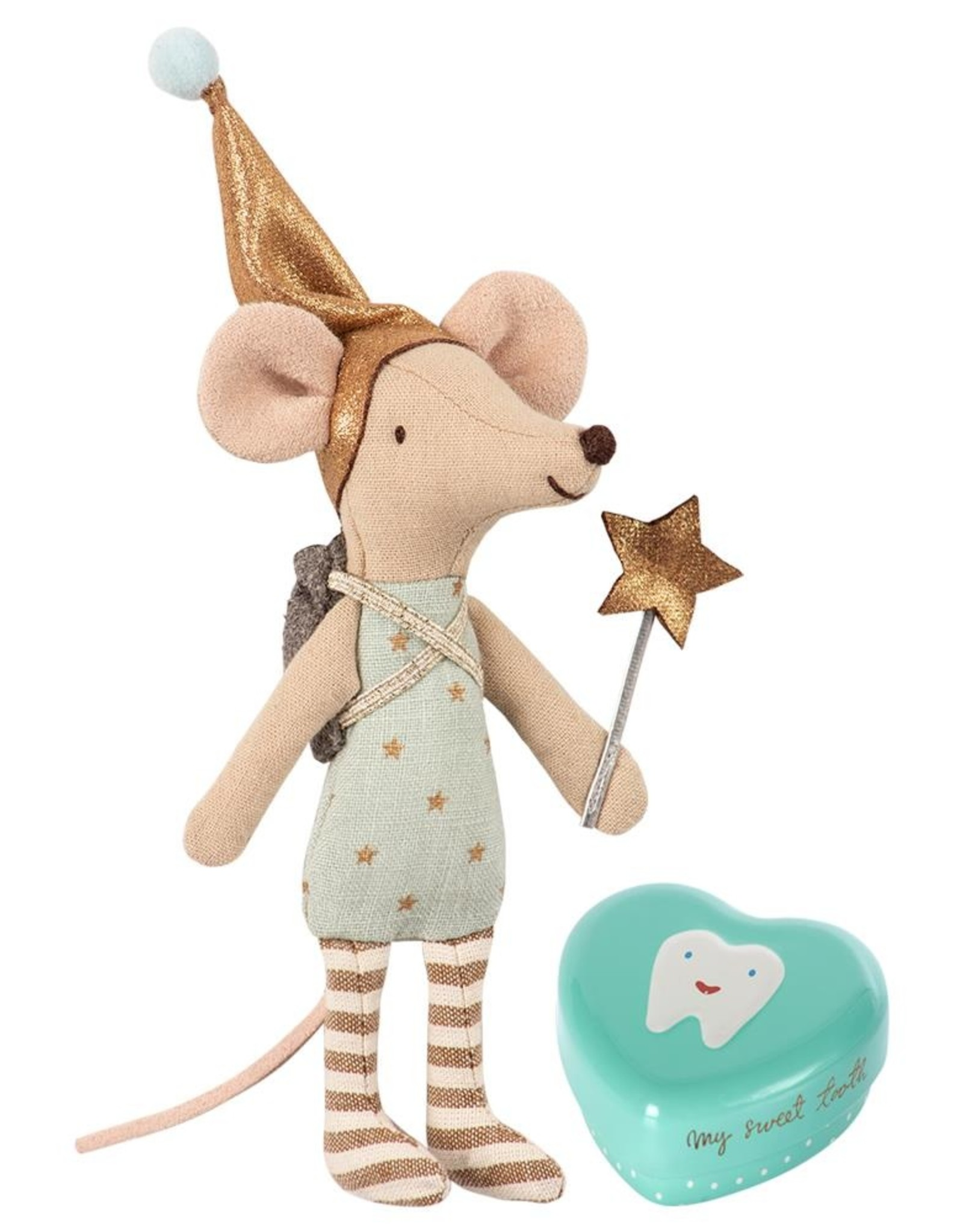 Maileg Big Brother Mouse - Tooth Fairy w/Metal Box