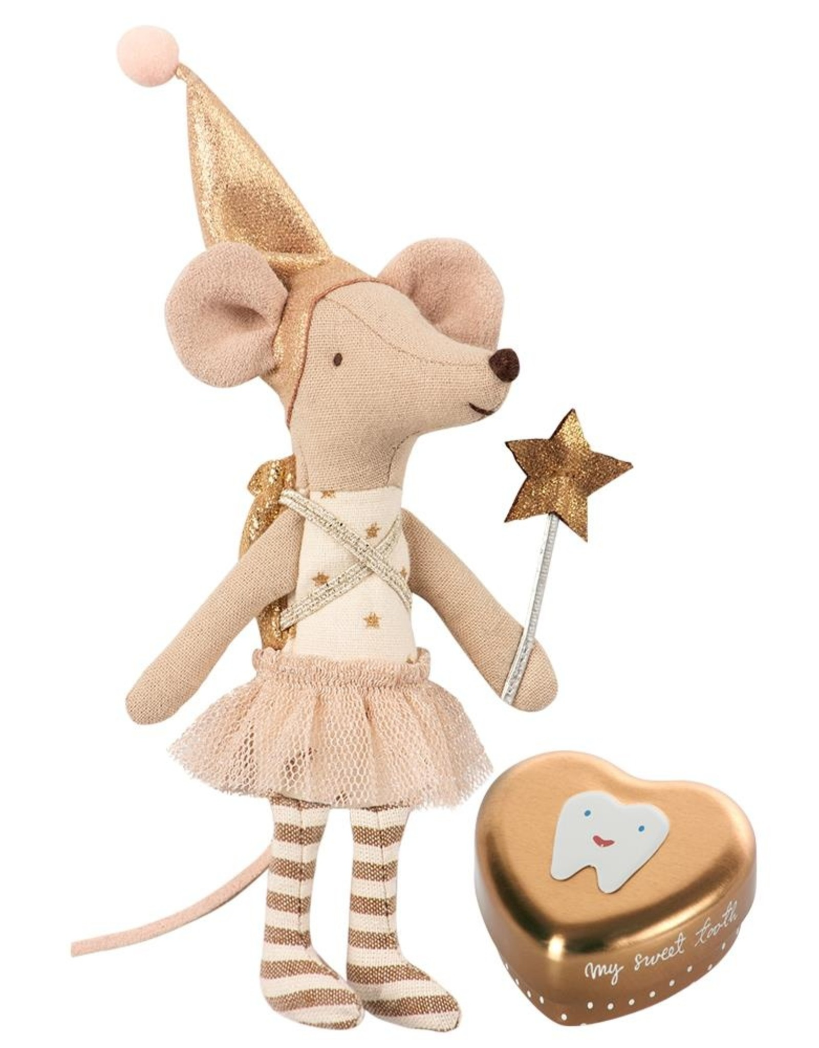 Maileg Big Sister Mouse - Tooth Fairy w/Metal Box