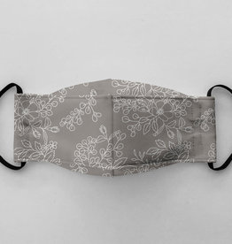 Augustin & Co Mask Adult - Pattern Simone Gris / Grey