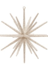 Starburst Ornament w/Glitter