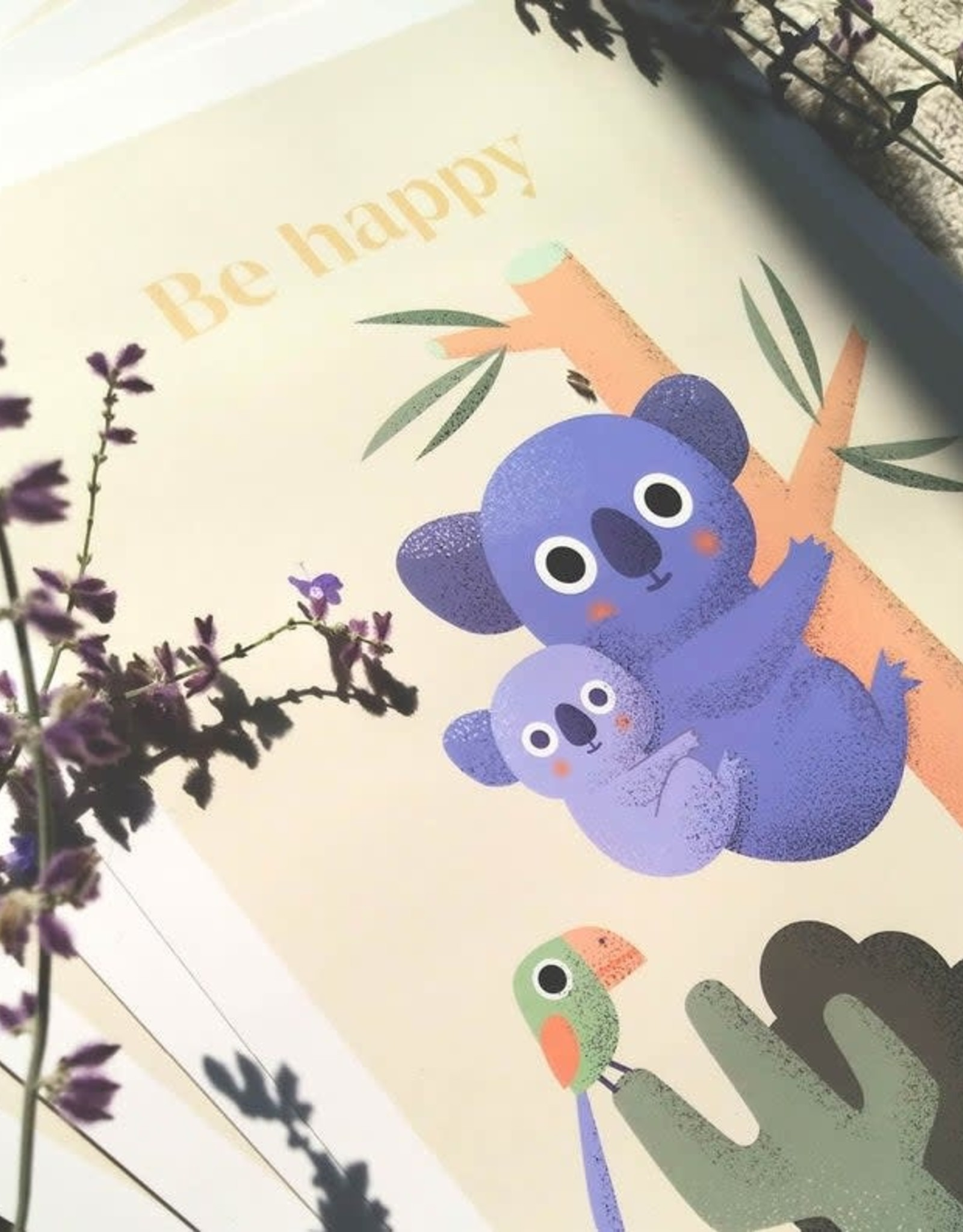 Akorana Affiche Be Happy