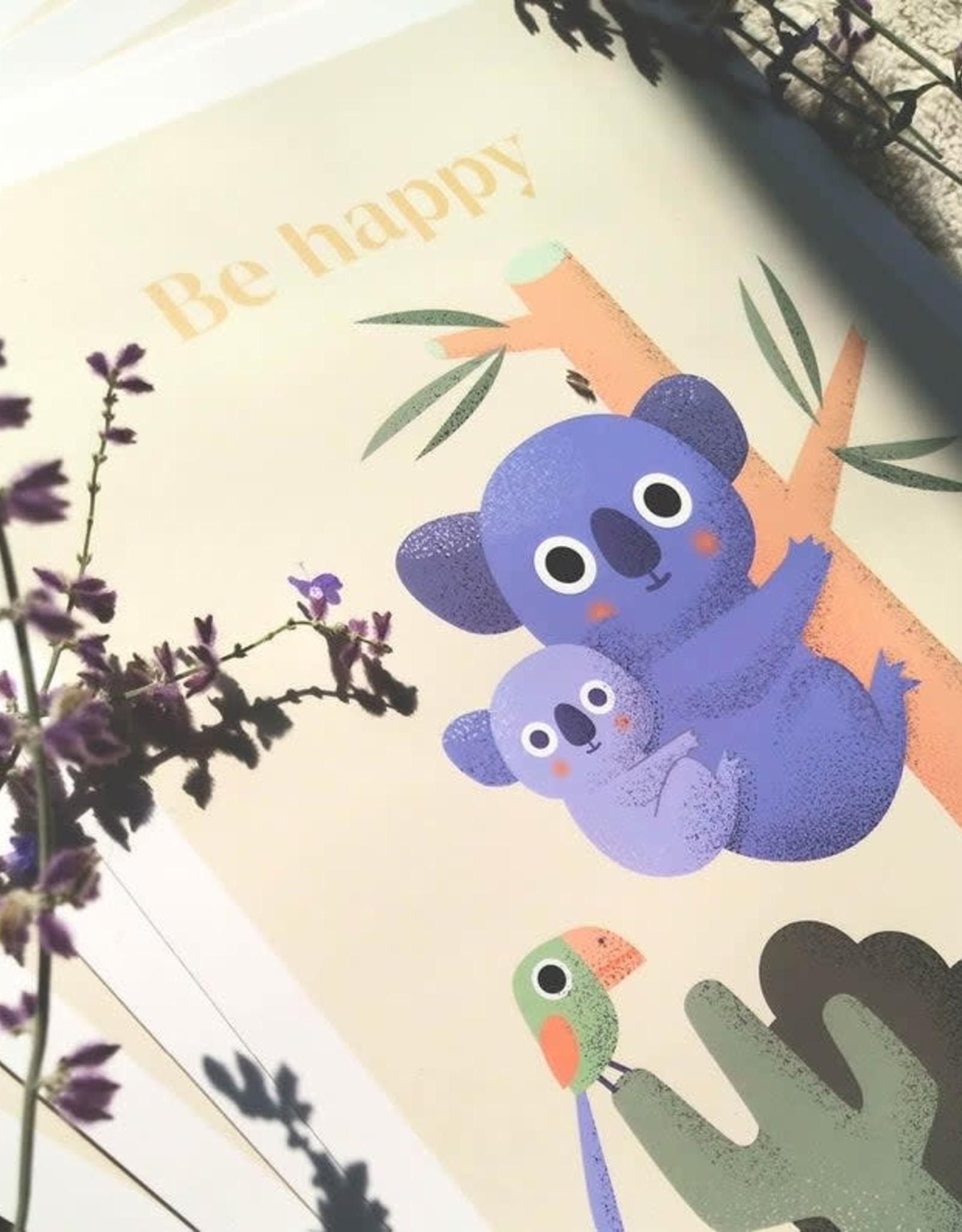 Akorana Print Be Happy