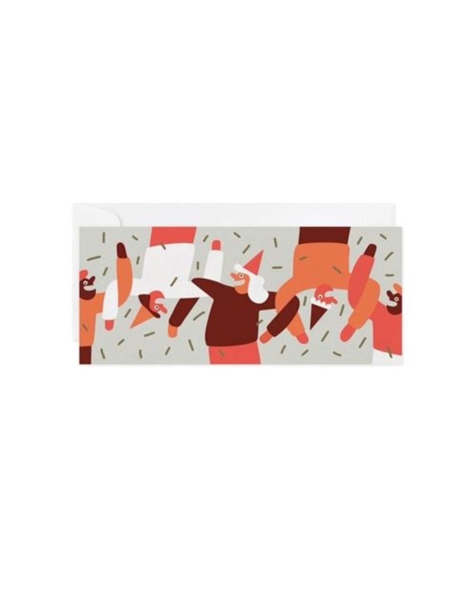 Paperole Carte Souhaites - Danse en ligne - par Cécile Gariépy