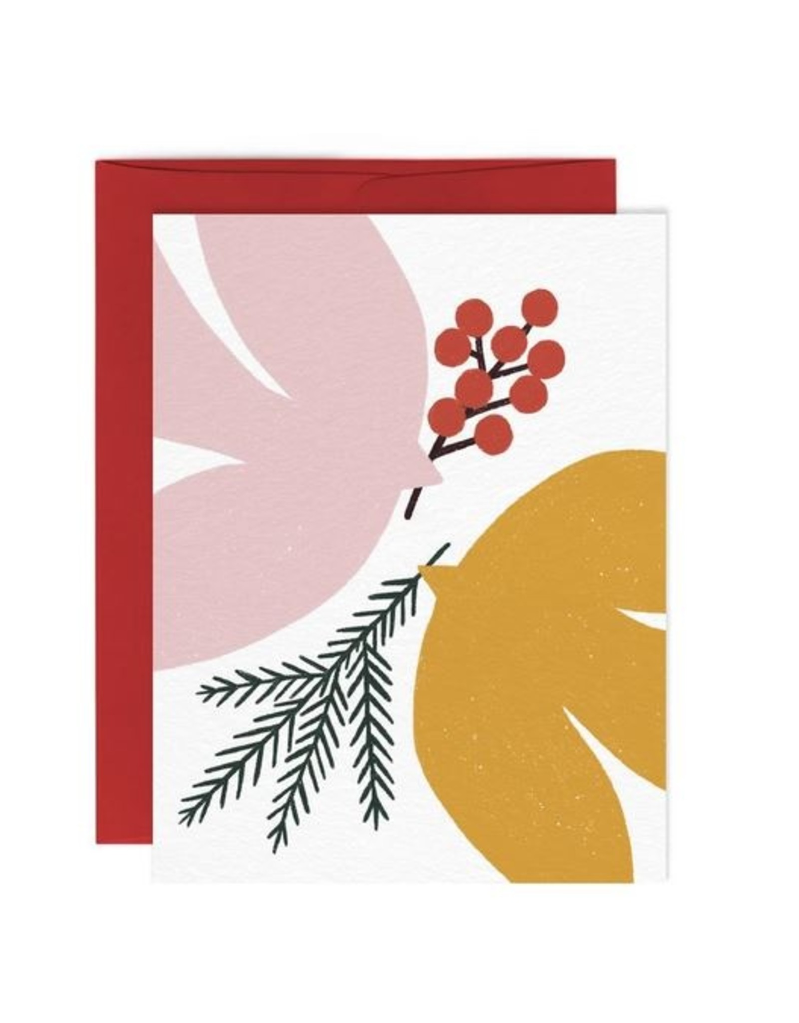 Paperole Greeting Card - Paix 2 - by Myriam Van Neste