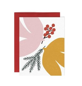Paperole Greeting Card - Paix - by Myriam Van Neste