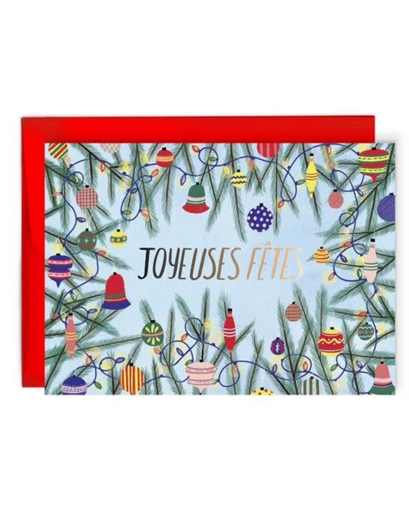 Paperole Greeting Card - Joyeuses Fêtes