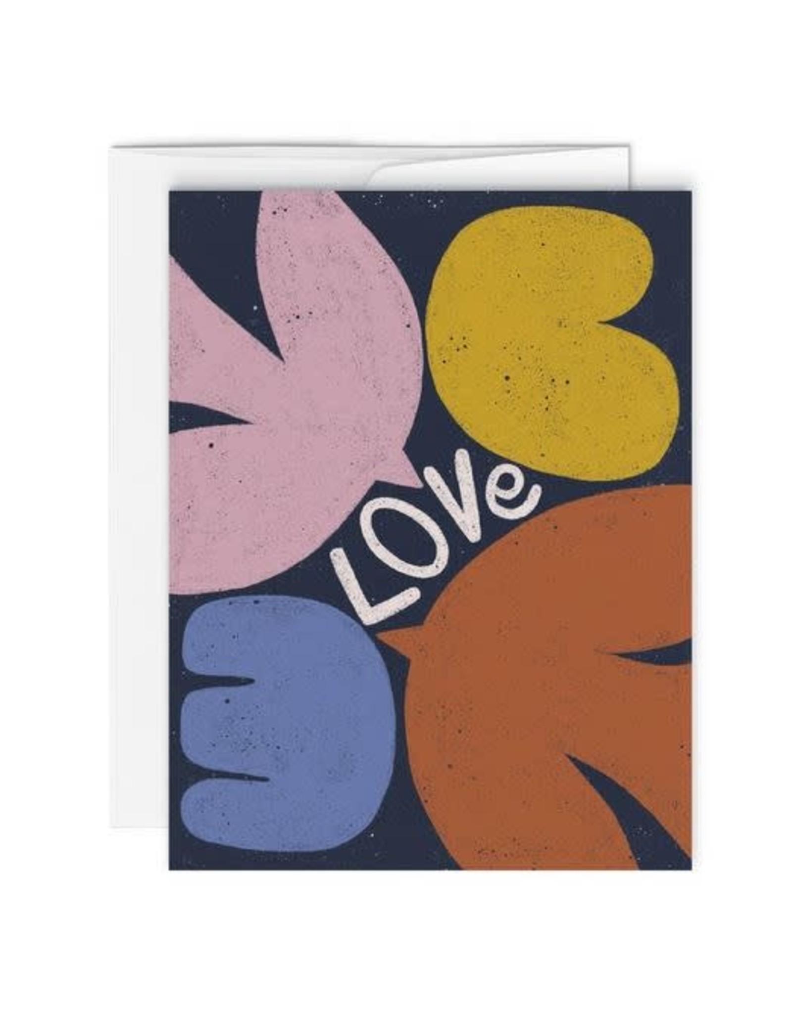 Paperole Carte de Souhaits - Love - par Myriam Van Neste