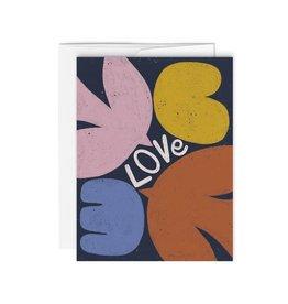 Paperole Greeting Card - Love - by Myriam Van Neste