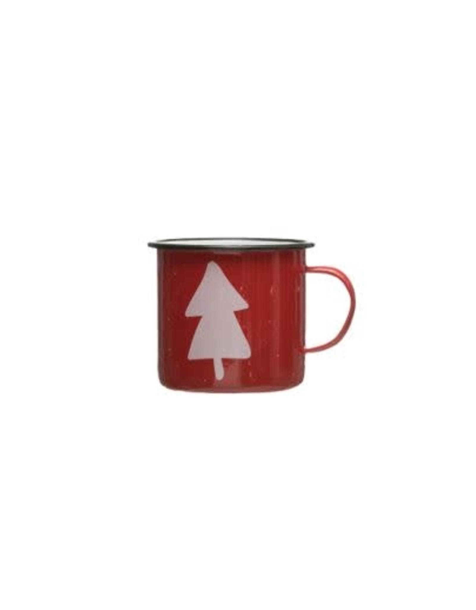 Enameled Mug - Tree