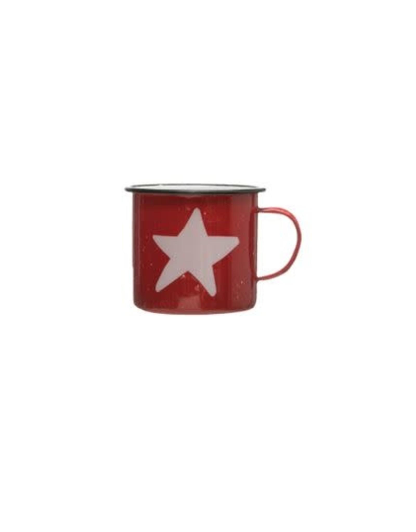 Enameled Mug - Star