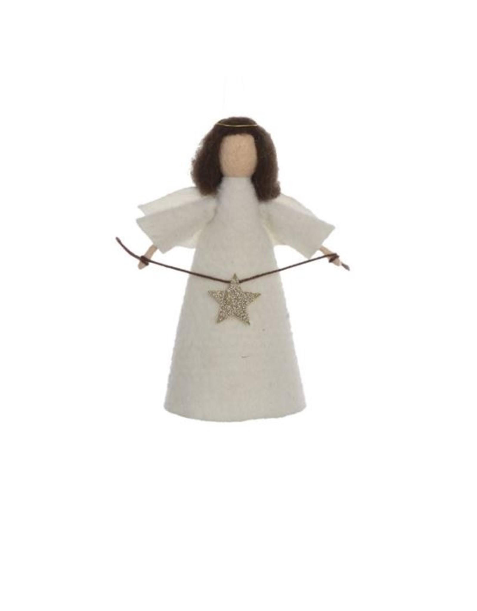 Wool Felt Angel Tree Topper