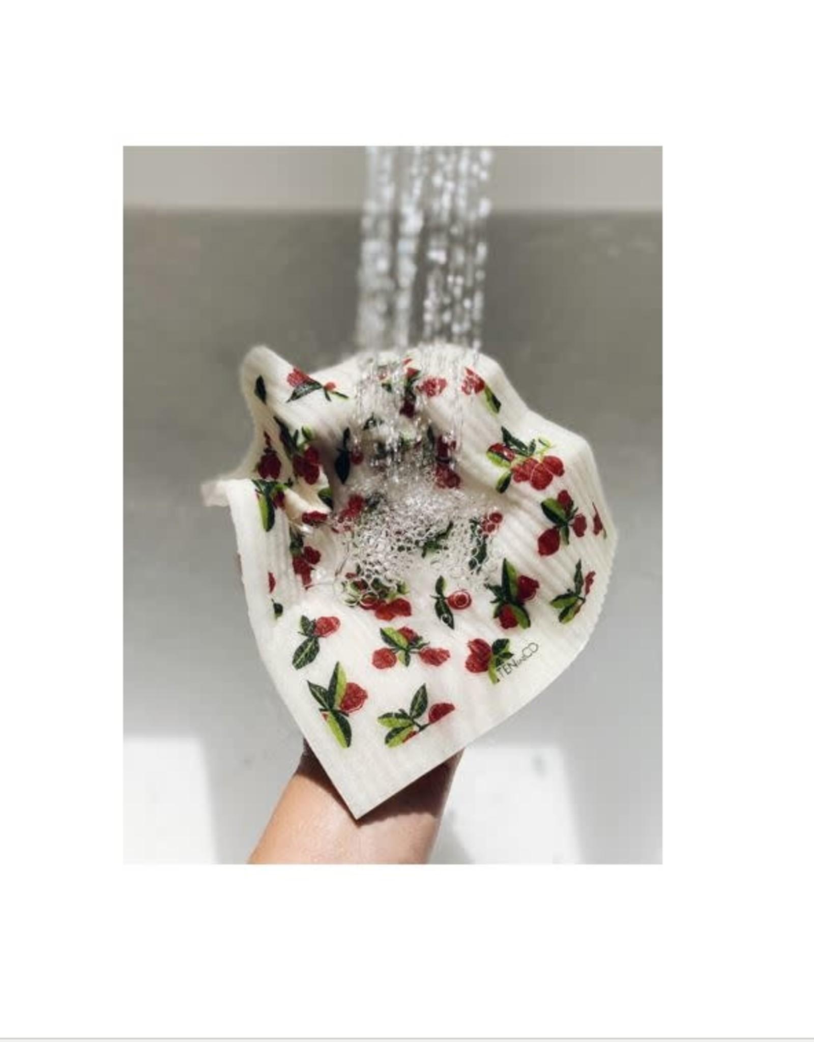 Sponge Cloth - Cranberry