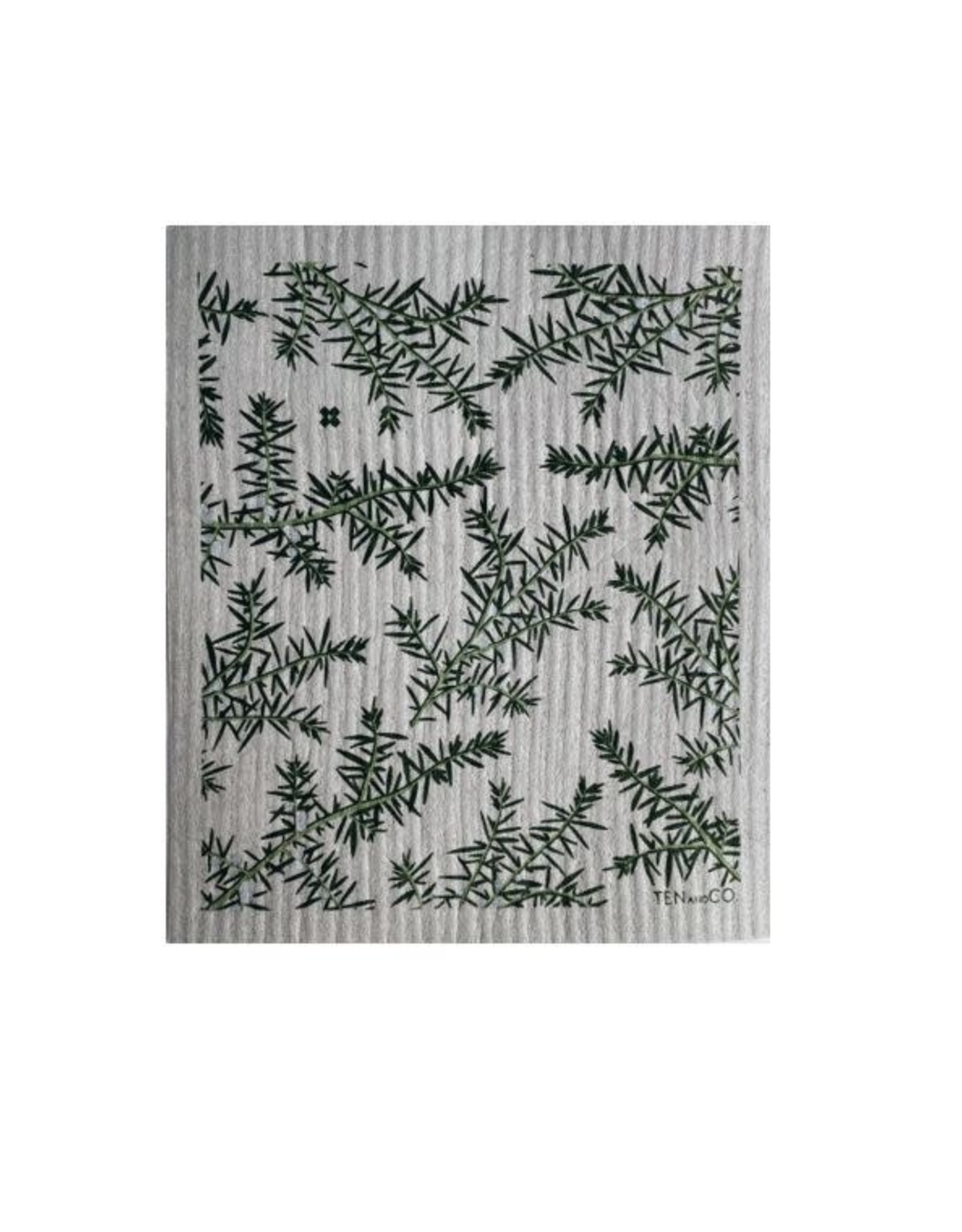 Chiffon Éponge - Juniperus - Gris