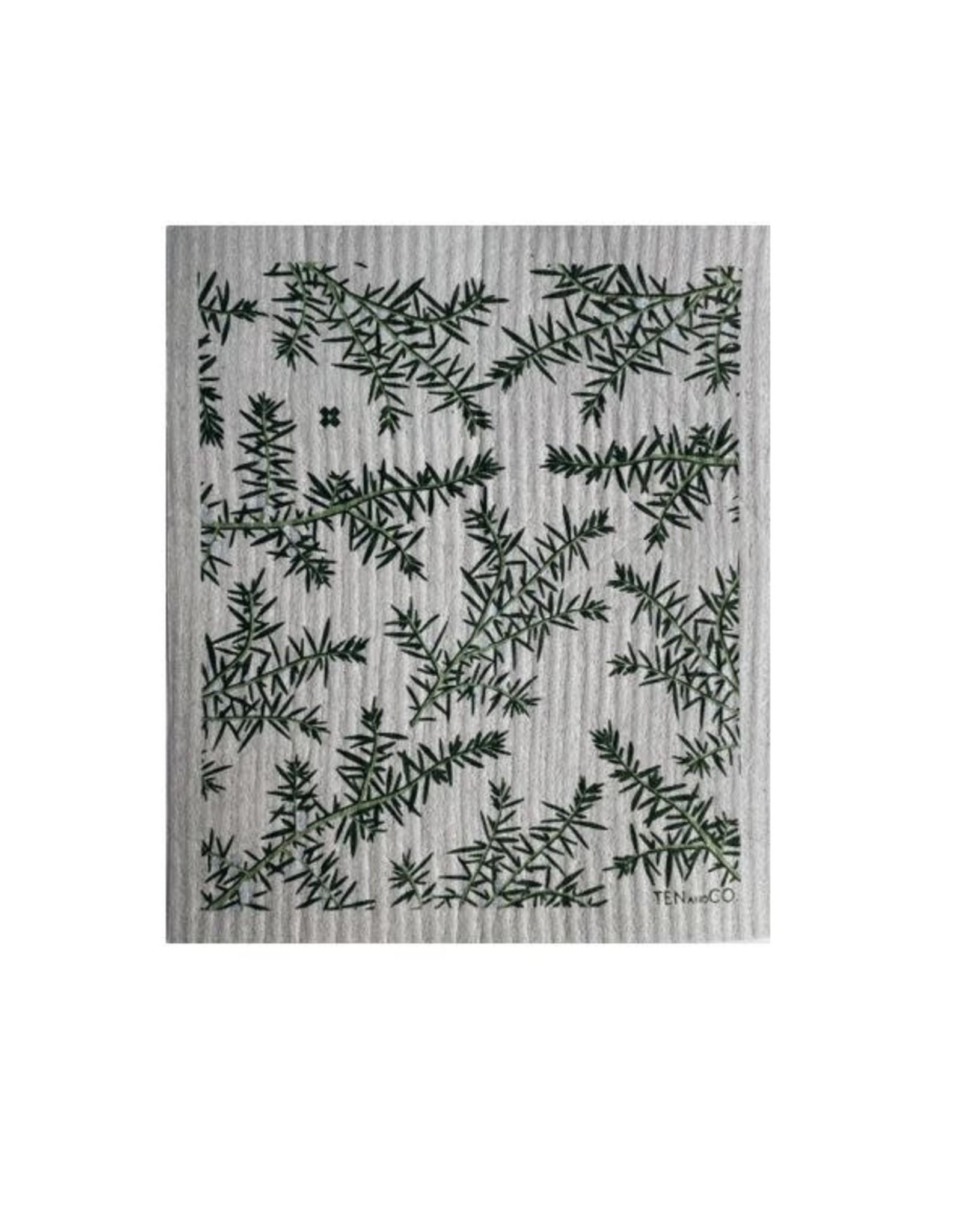 Sponge Cloth Juniper Greens - Grey