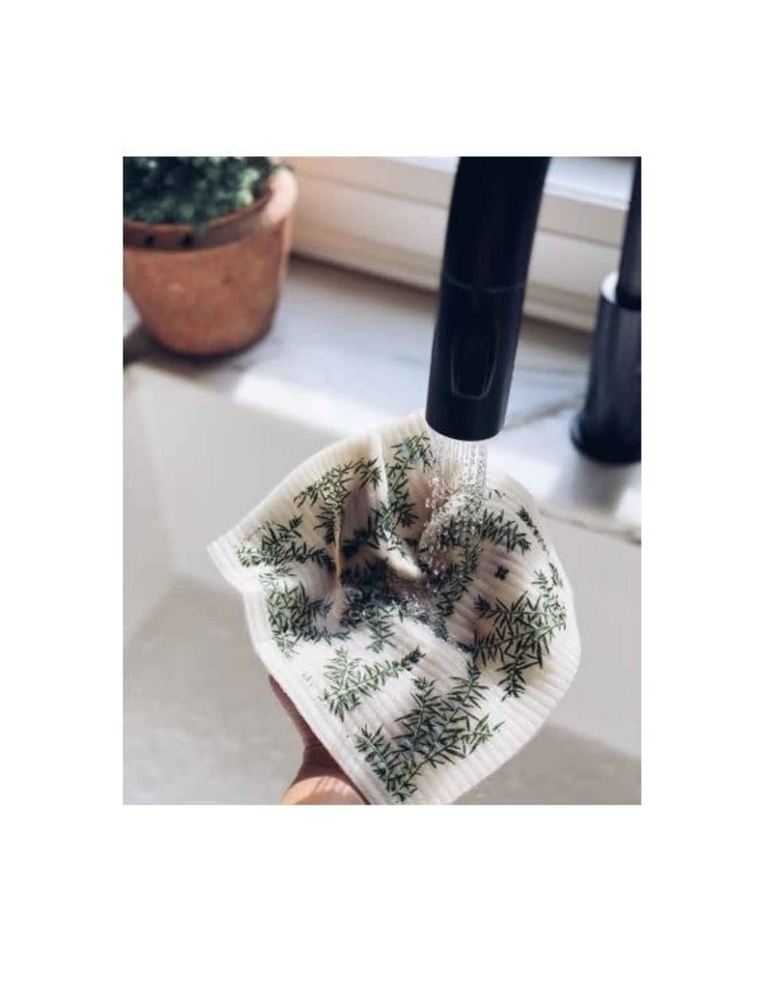Chiffon Éponge - Juniperus - Blanc