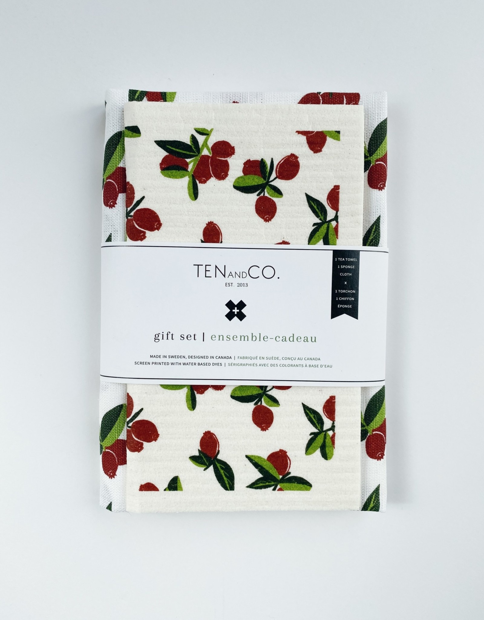 Ten and Co. Gift Set - Cranberry
