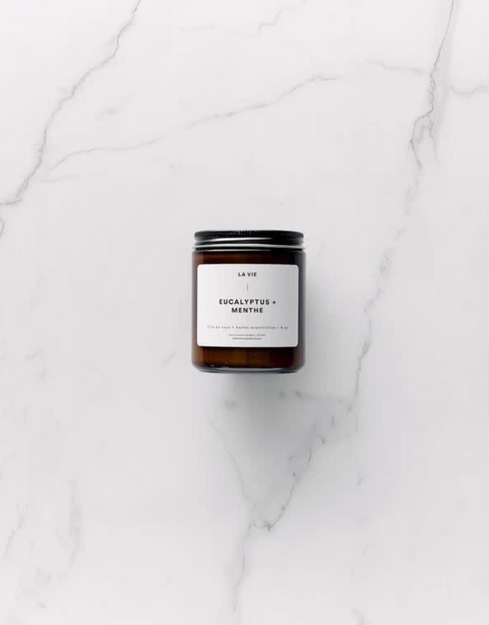 Atelier La Vie Apothicaire Candle - Eucalyptus Menthe