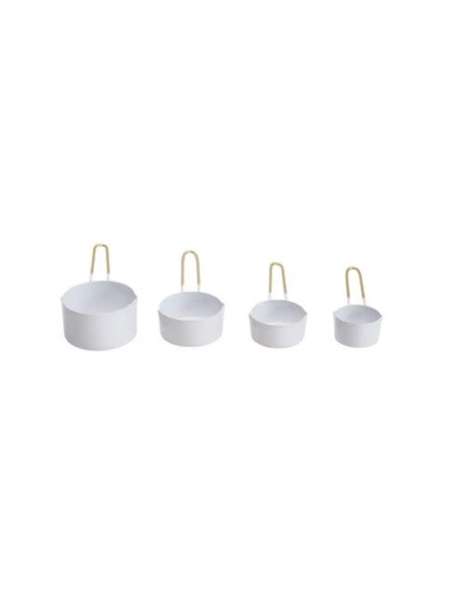 Enameled Measuring Cups - Set of 4