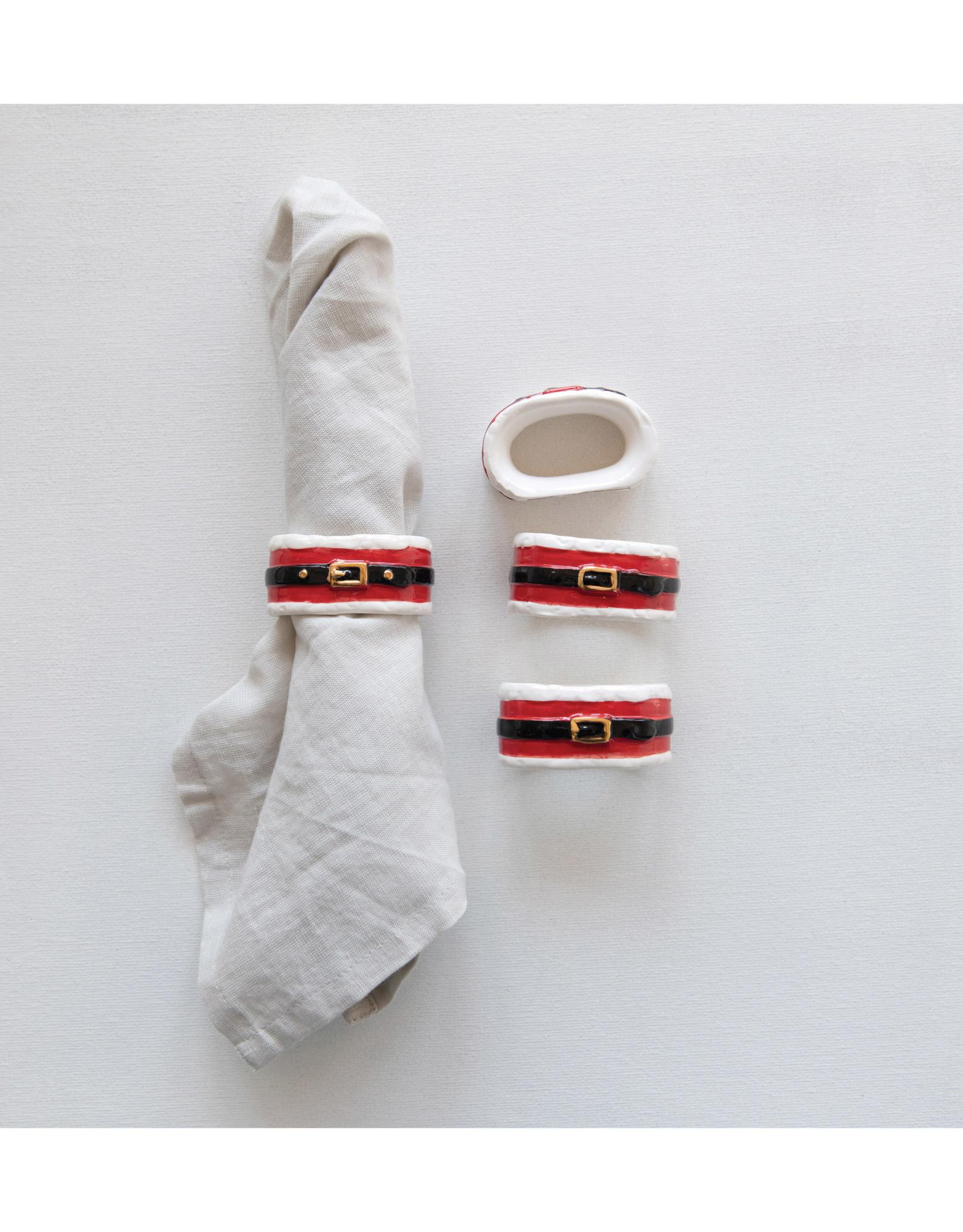 Santa Belt Napkin Ring
