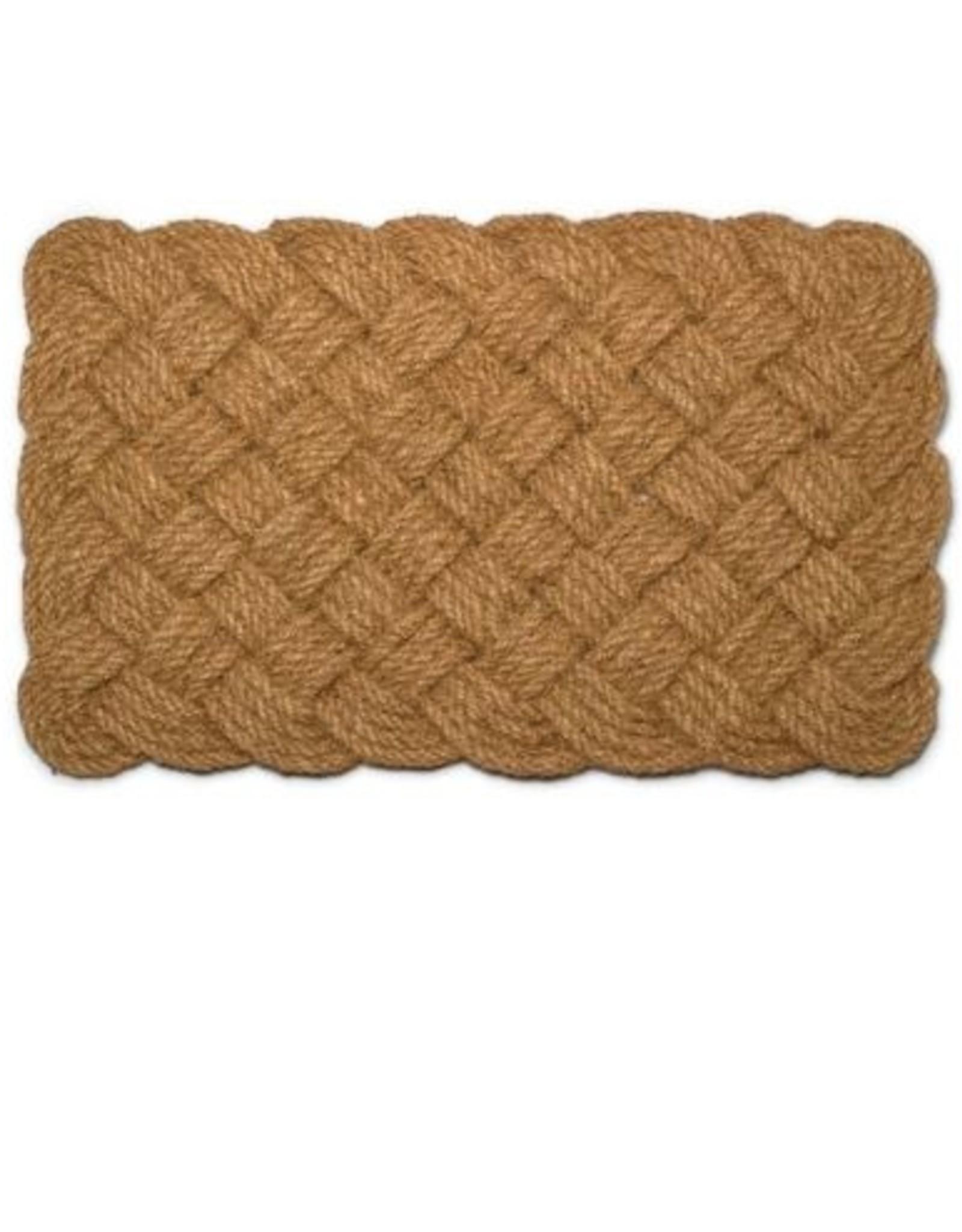 Natural Woven Rope Doormat