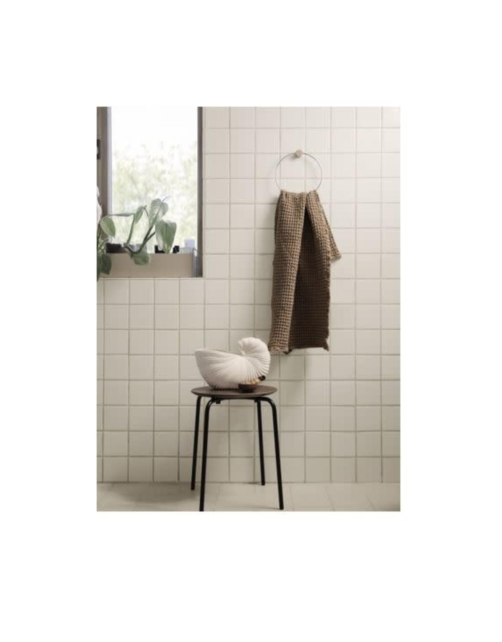 Ferm Living Porte-Serviettes - Chrome