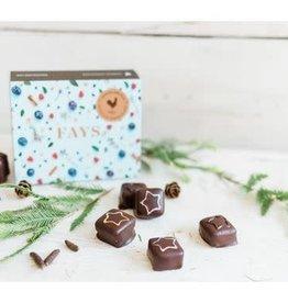 Fays Terroir Chocolaté Boite de 6 Bouchées - Édition Noël