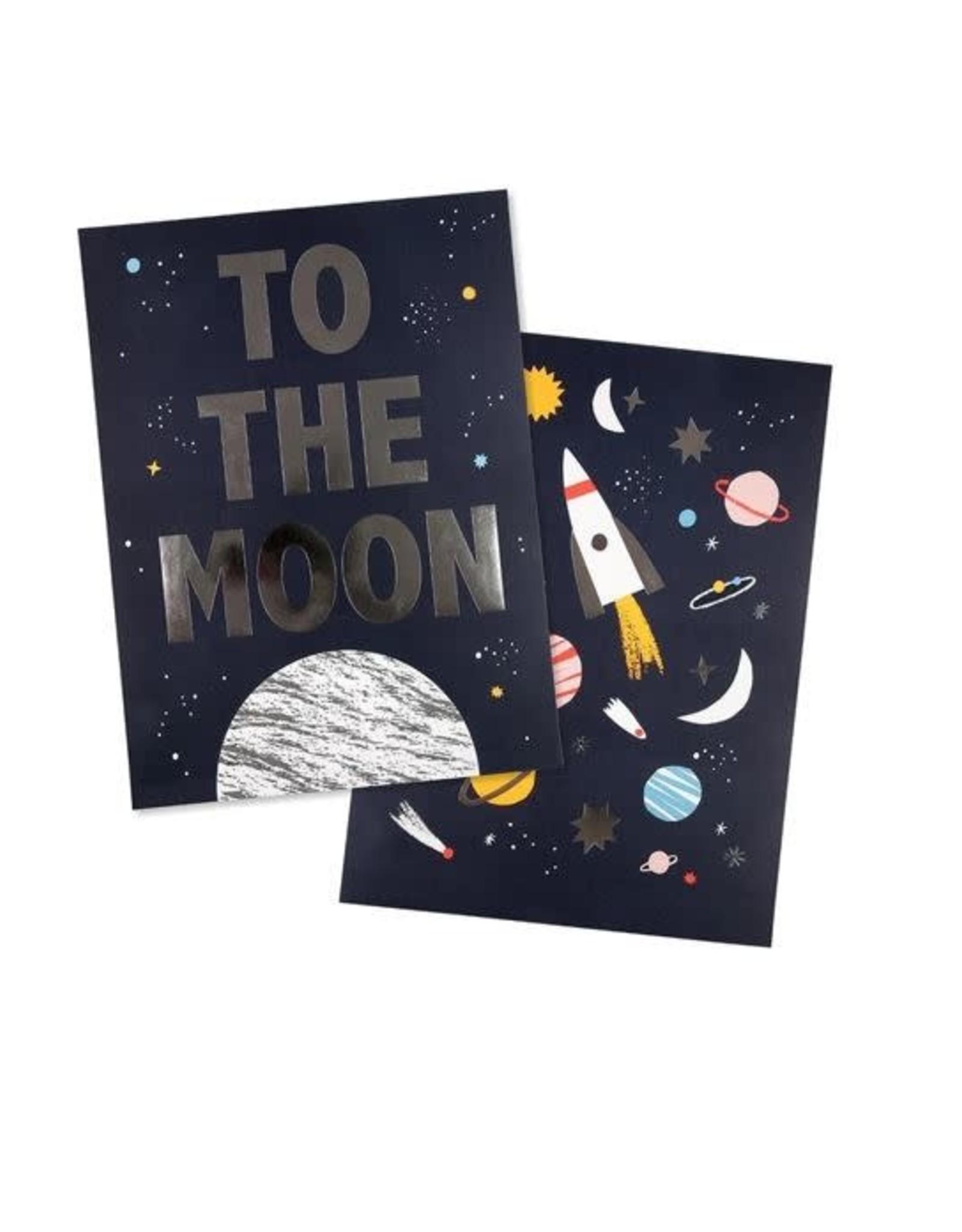 Meri Meri Space Print - Set of 2