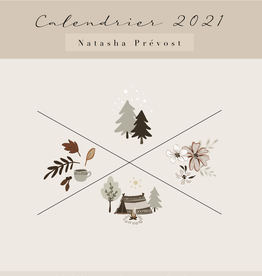 Natasha Prévost Calendrier 2021