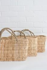 Long Open Weave Storage Basket