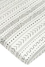 Loulou Lollipop Drap contour  - White Mudcloth
