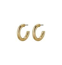 Pilgrim Earring Dolag - Gold Plated