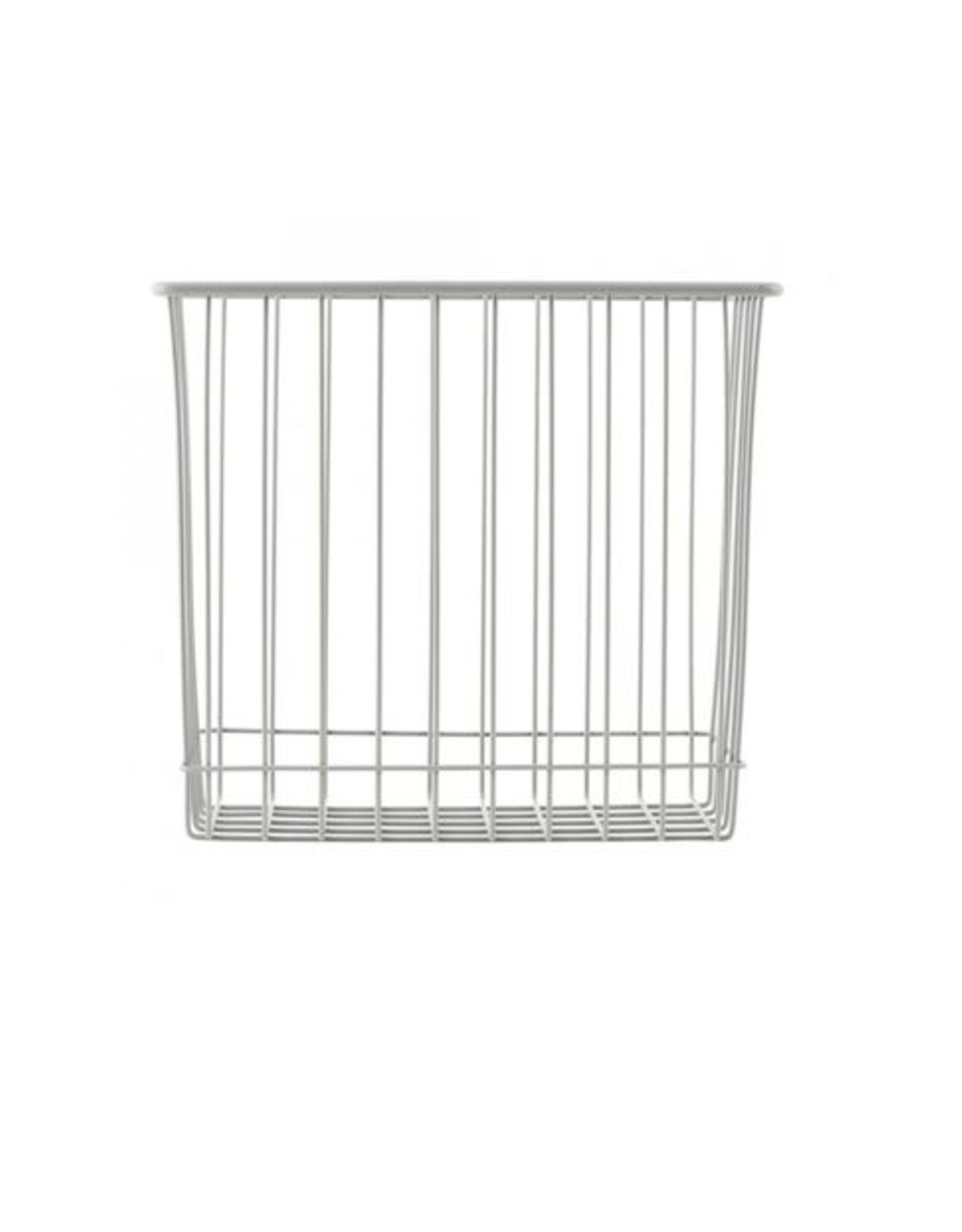 Monograph Grey Wire Basket