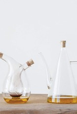 Glass Oil & Vinegar Cruet w/Cork