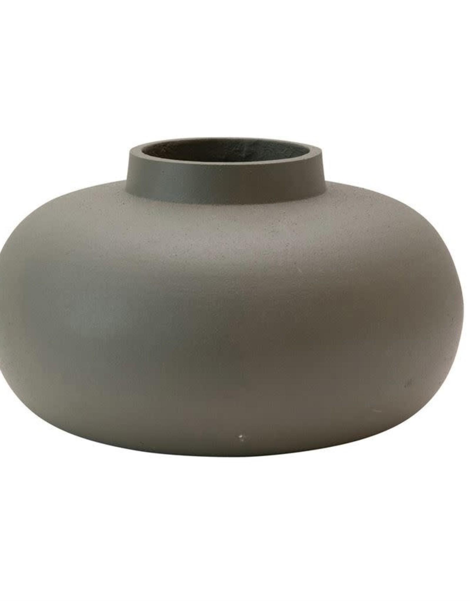 Vase en Métal - Gris