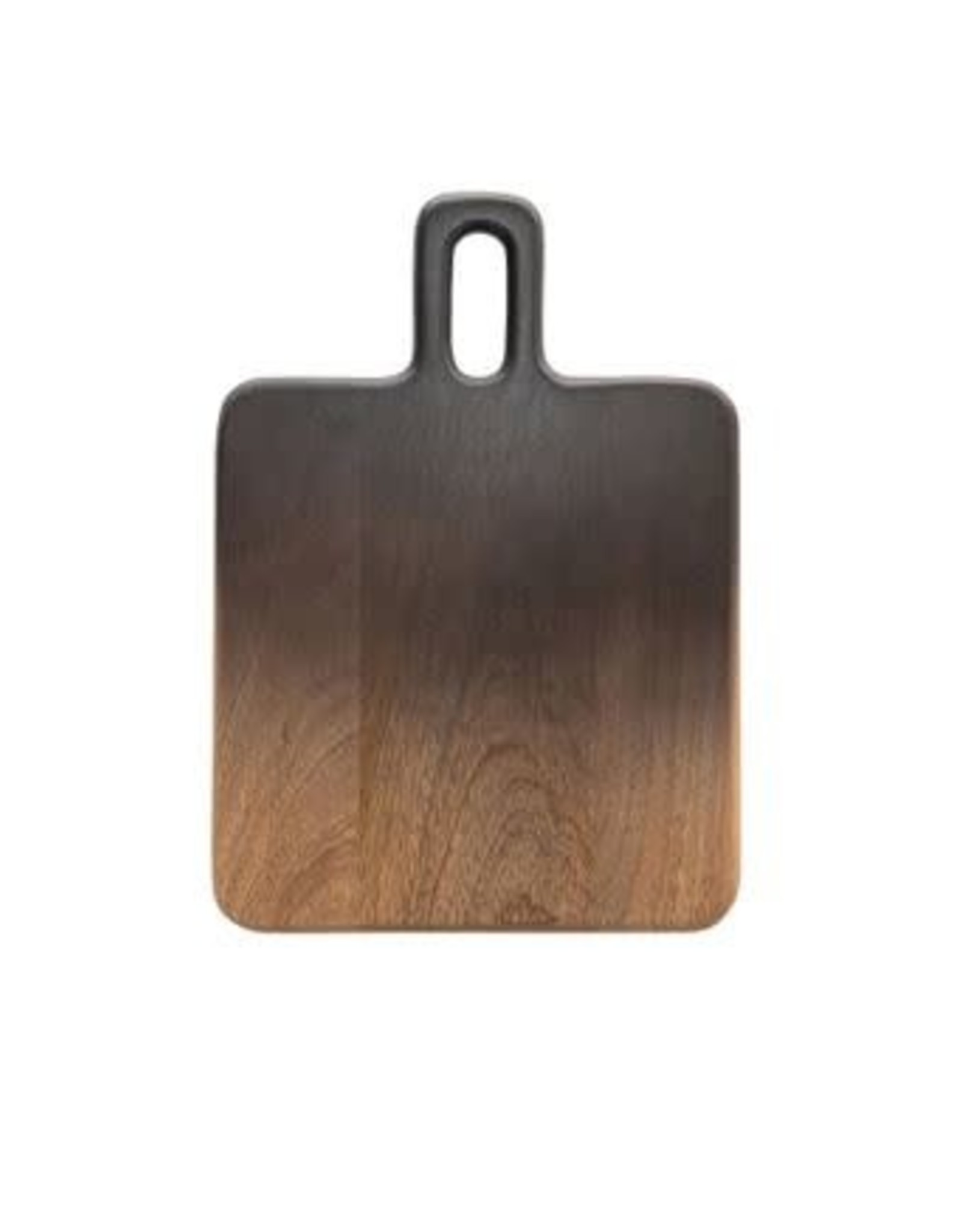Mango Wood Cutting Board - Black & Natural Ombre