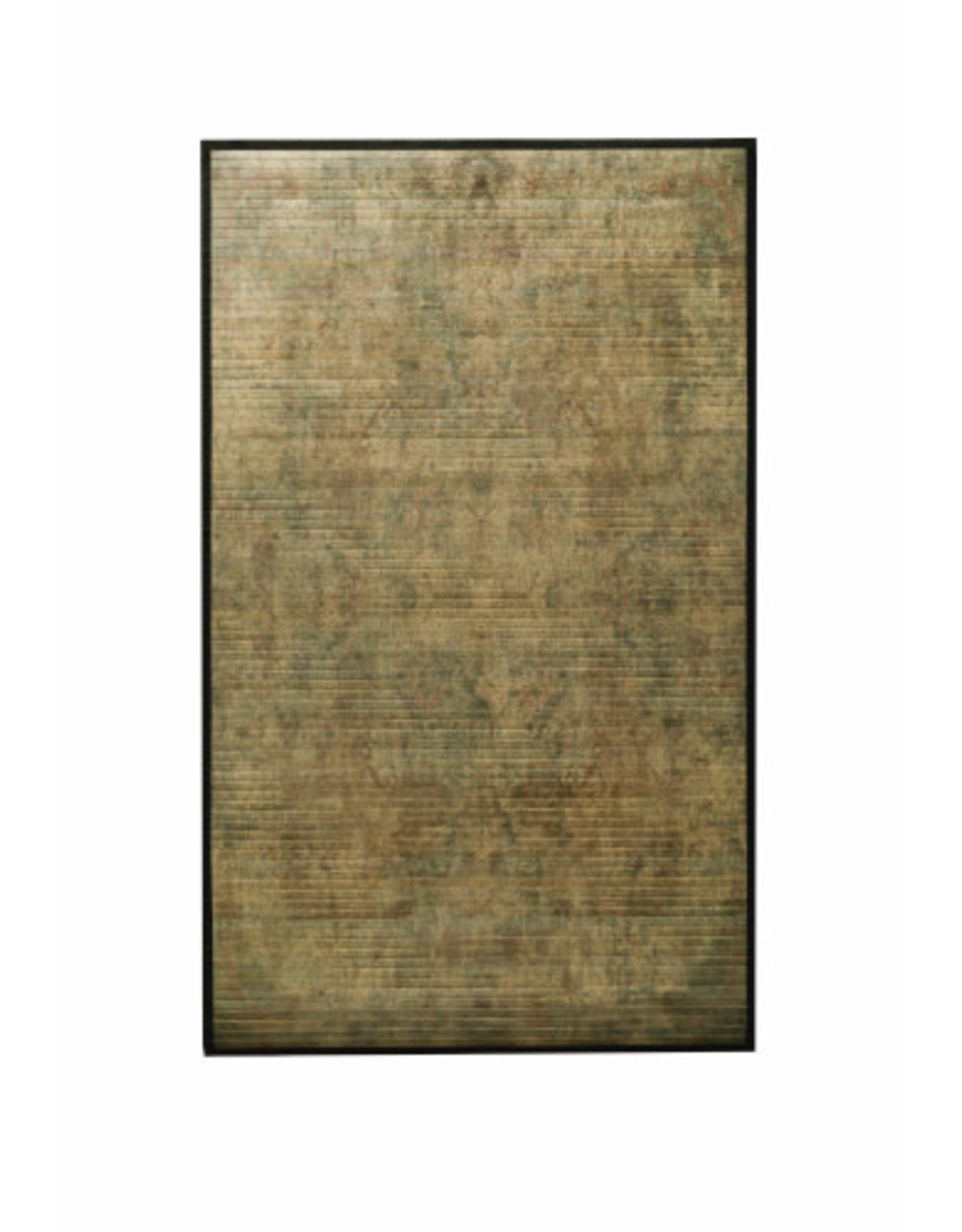 Bamboo Mat with Tapestry Pattern