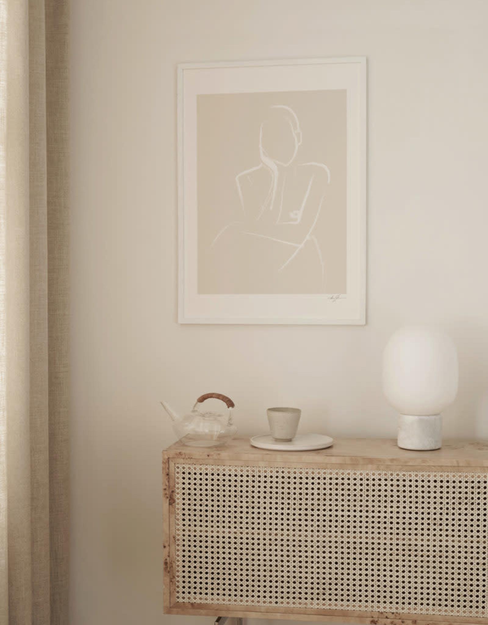 The Poster Club Affiche Demure - by Anna Johansson - 30 x 40 cm