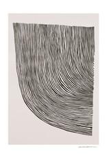 The Poster Club Affiche Curves - by Leise Dich Abrahamsen - Sélectionnez dimension