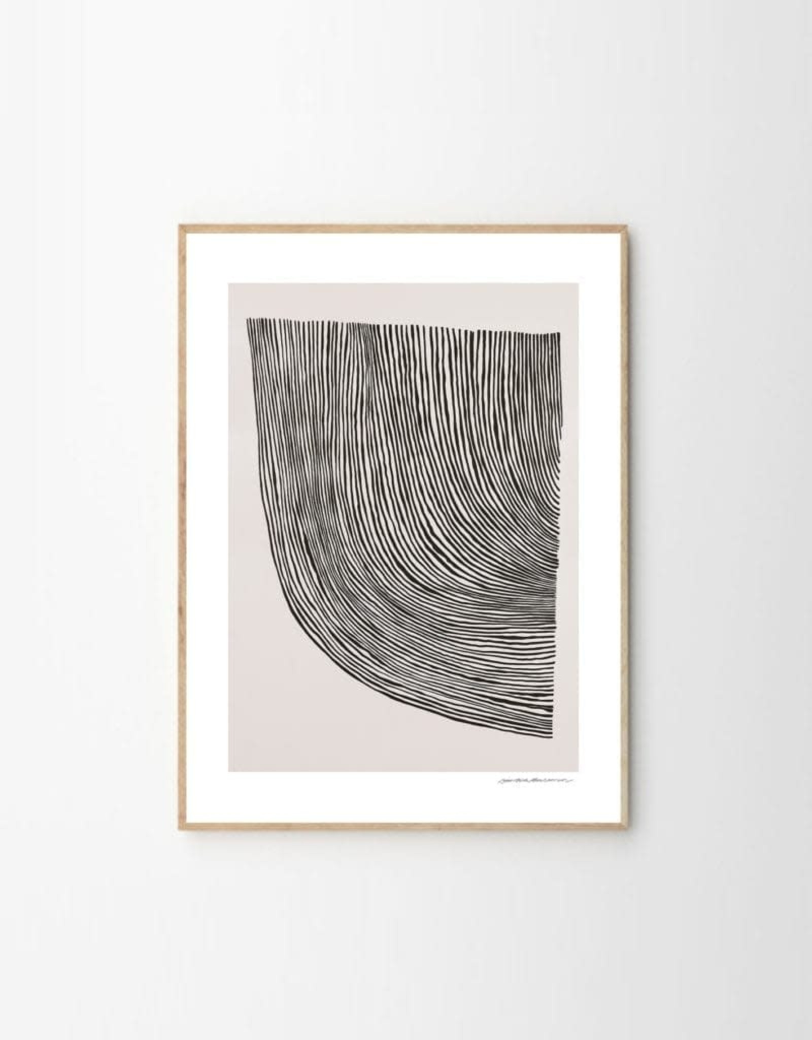 The Poster Club Print Curves - by Leise Dich Abrahamsen