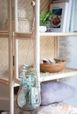 Moka Glass Hanging Planter