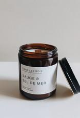 Dans les Bois Sage and Sea Salt Candle - Choose Size