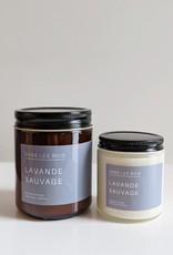 Dans les Bois Candle Wild Lavander - Choose size