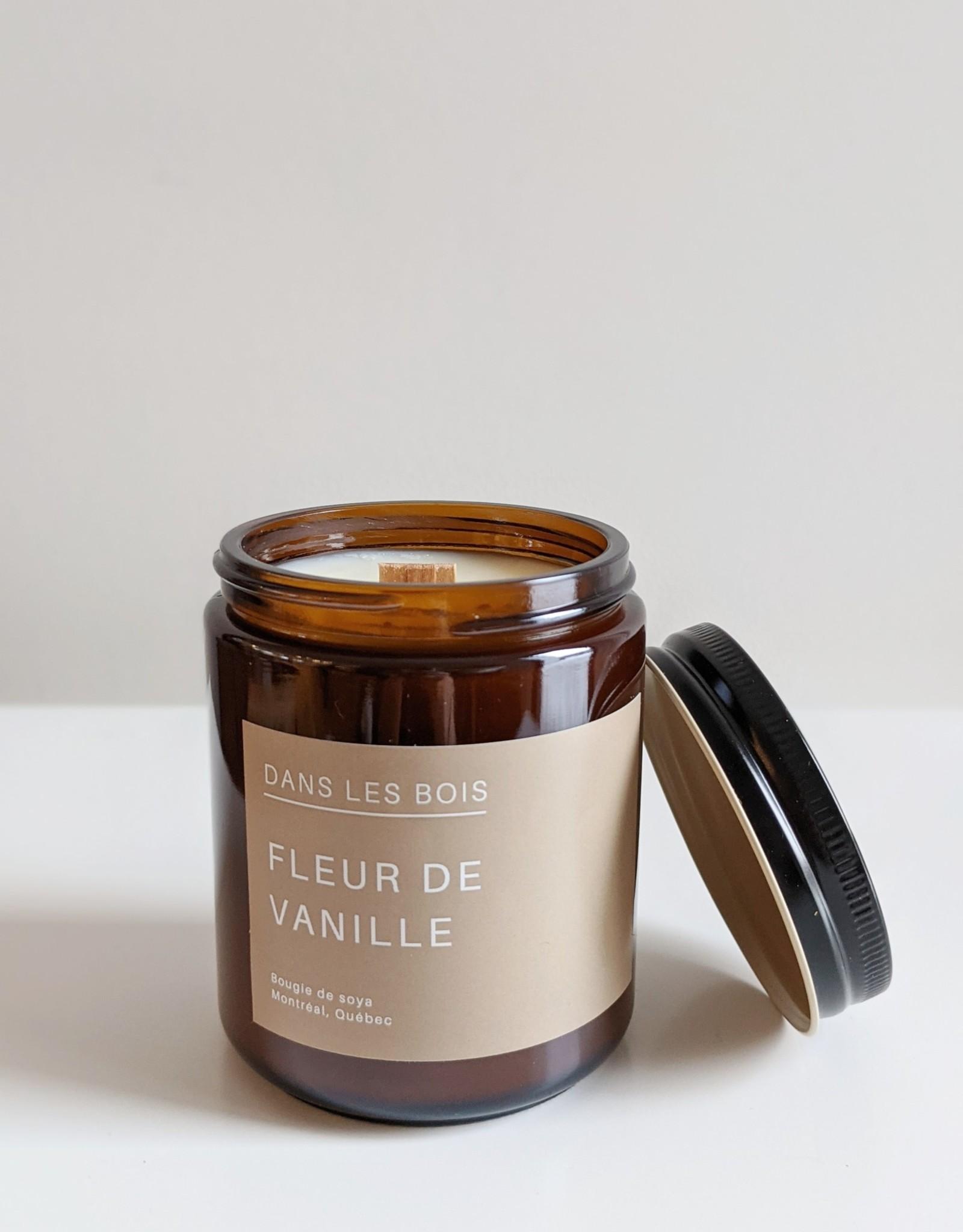 Dans les Bois Vanilla Flower Candle- Choose Size