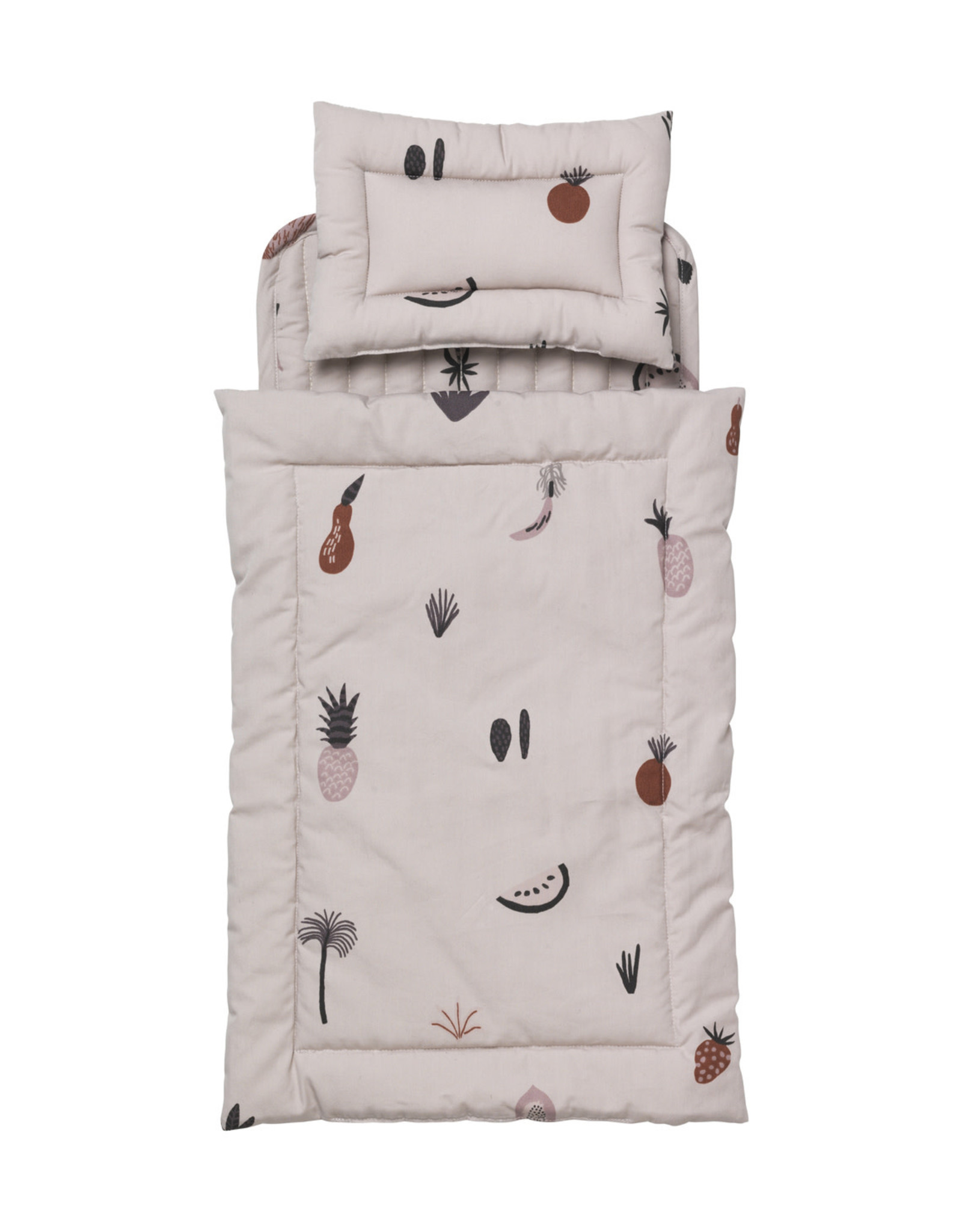 Ferm Living Fruiticana Doll Bedding Quilted Set