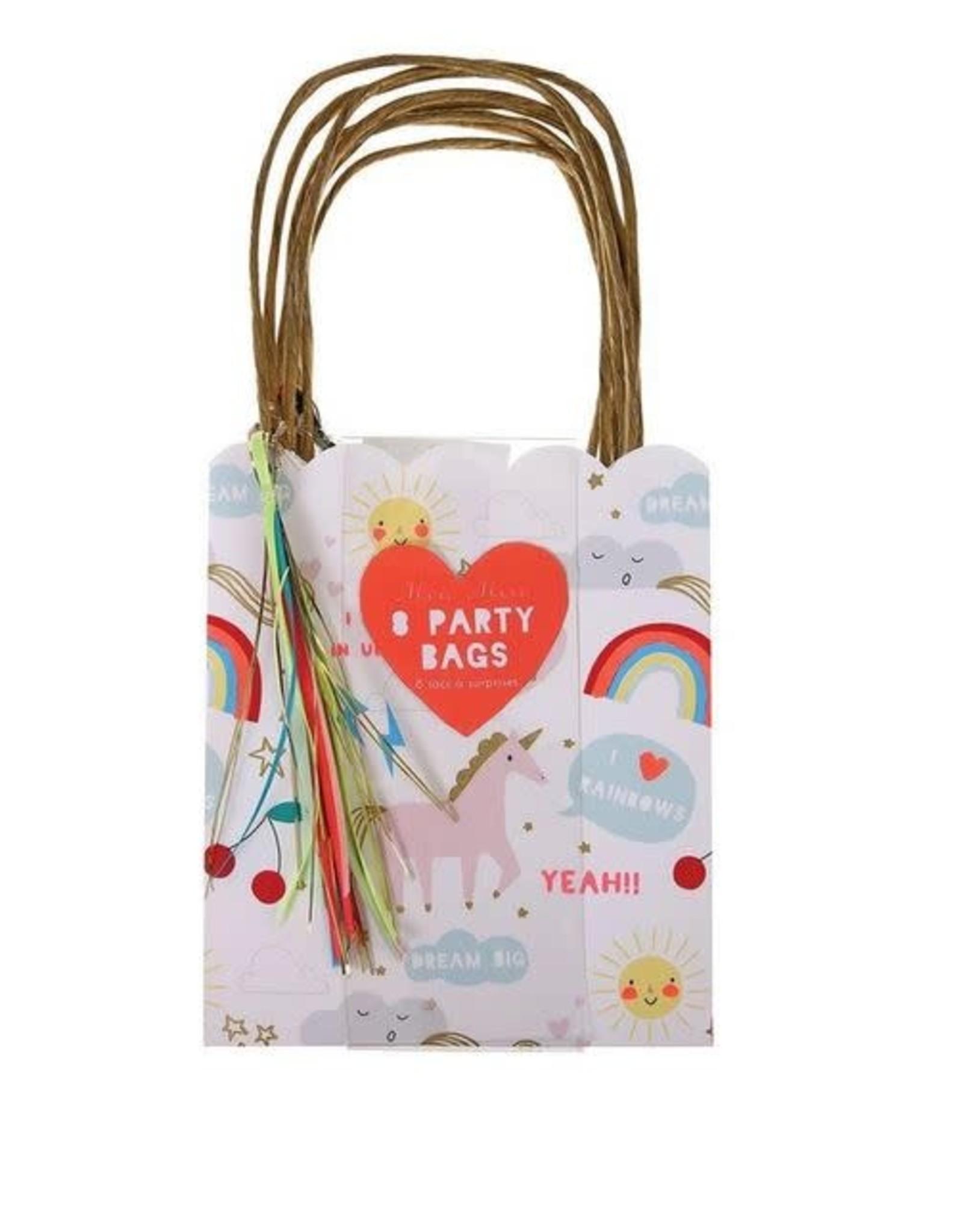 Meri Meri Party Bags - Unicorns
