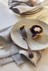 Serviette de table Everyday - Rayures en denim (Lot de 4)