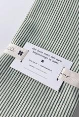 Everyday Napkin - Sage Stripes (Set of 4)