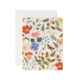 Rifle Paper Co. Card Strawberry Fields