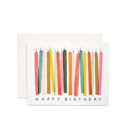 Riffle Paper Co. Birthday Card - Candles