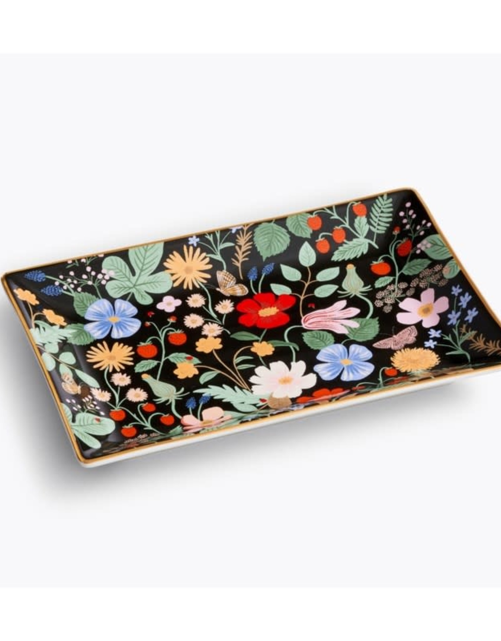Rifle Paper Co. Catchall Tray - Strawberry Fields